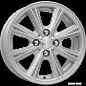 R14x5.5 4/98/58.5/35 КиК Аттика KC561 Silver