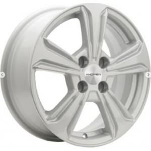 R15x6.0 4/100/54.1/45 KHOMEN KHW1502 Gray