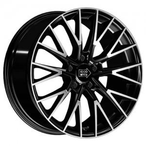 R18x8.0 5/112/66.6/35 MIGLIA 1000 (1009) Gloss Black Polished