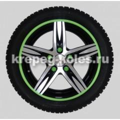 Декоративная защита литых дисков R17-19GR 4шт