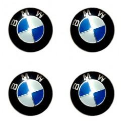 Наклейки на диски BMW 60mm BK 4шт