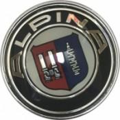 Заглушка на диск ALPINA D-65mm BK (ориг) 1шт