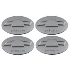 Наклейки на диски CHEVROLET 70mm SL 4шт