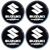Наклейки на диски SUZUKI 55mm BK 4шт