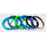 Центровочное кольцо 72,6-57,1. Комплект 4 штуки GR