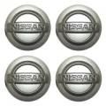 Наклейки на диски NISSAN 60mm SL 4шт