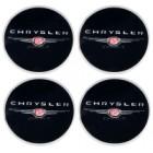 Наклейки на диски CHRYSLER 60mm BK 4шт